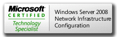 MCTS 70-642 Microsoft Certified Technology Specialist Windows Server 2008 Network Infrastructure, Configuring